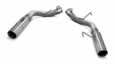 """SLP Performance - SLP Performance M31014 LoudMouth Stainless 2.5"""" Axle-Back Exhaust System"""