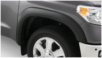 Bushwacker - Bushwacker 30037-02 OE-Style Front Fender Flares-Black