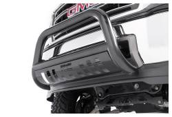 Rough Country Suspension Systems - Rough Country B-D2021B Bull Bar Bumper Guard Black - Image 3