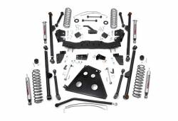 """Rough Country Suspension Systems - Rough Country 783.22 4.0"""" X-Series Long Arm Suspension Lift Kit - Image 1"""