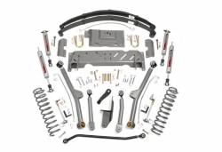 """Rough Country Suspension Systems - Rough Country PERF617 4.5"""" X-Series Long Arm Suspension Lift Kit - Image 1"""