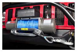Rough Country Suspension Systems - Rough Country RS12000S 12000-Lb Electric Winch Recovery System w/Synthetic Rope - Image 2