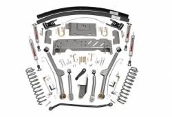 """Rough Country Suspension Systems - Rough Country PERF689 4.5"""" X-Series Long Arm Suspension Lift Kit - Image 1"""