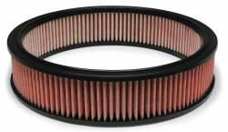 """Airaid - Airaid 801-350 14"""" x 3"""" Performance Replacement Air Filter Red Dry Filter - Image 1"""