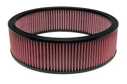 """Airaid - Airaid 801-377 14"""" x 4"""" Performance Replacement Air Filter Red Dry Filter - Image 1"""