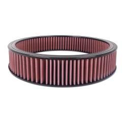 """Airaid - Airaid 800-403 Round Performance Air Filter; 16""""OD x 3.0"""" H; Red Synth. - Image 2"""