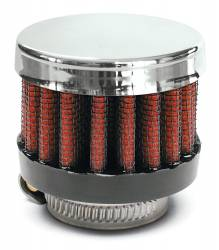 """Airaid - Airaid 775-137 Crankcase Breather Filter 1"""" ID - Clamp On 2"""" OD 1.5"""" Tall - Image 1"""