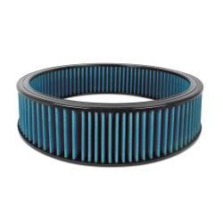 """Airaid - Airaid 800-410 Round Performance Air Filter; 16""""OD x 4.0"""" H; Blue Cotton - Image 1"""
