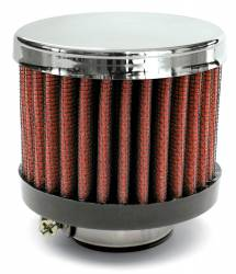 """Airaid - Airaid 775-143 Crankcase Breather Filter 1.375"""" ID - Clamp On 3.0"""" OD 2.5"""" Tall - Image 1"""