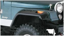 Bushwacker - Bushwacker 10059-07 Cut-Out Front Fender Flares-Black - Image 1