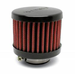 "Airaid - Airaid 771-490 Crankcase Breather Filter 1.25"" OD - Push On 3.0"" OD 2.5"" Tall - Image 1"