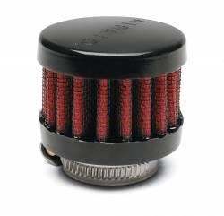 "Airaid - Airaid 771-480 Crankcase Breather Filter 1.25"" OD - Push On 2"" OD 1.5"" Tall - Image 1"