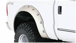 Bushwacker - Bushwacker 20046-02 Cut-Out Rear Fender Flares-Black - Image 1