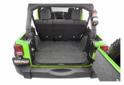 Bed Rug - Bed Rug BRJK07R4 BedRug Classic Carpeted Floor Liner-Rear/Cargo - Image 4