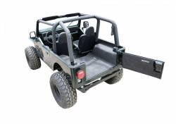 Bed Rug - Bed Rug BRCJ81R BedRug Classic Carpeted Floor Liner-Rear/Cargo - Image 3