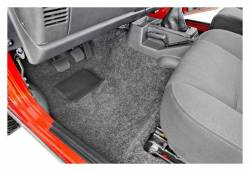 Bed Rug - Bed Rug BRTJ97F BedRug Classic Carpeted Floor Liner-Front - Image 2