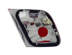 Anzo USA - Anzo USA 221164 Chrome Euro Tail Light Set-Red/Clear Lens - Image 2