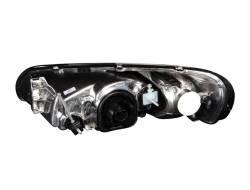 Anzo USA - Anzo USA 121026 Crystal Headlight Set-Black - Image 2