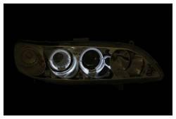 Anzo USA - Anzo USA 121054 Projector Headlight Set w/ LED Halo-Chrome - Image 2