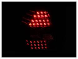 Anzo USA - Anzo USA 321136 Black LED Tail Light Set-Clear Lens - Image 2