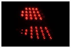 Anzo USA - Anzo USA 321150 Black LED Tail Light Set-Clear Lens - Image 2