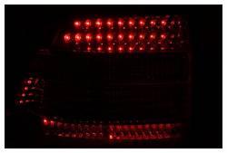 Anzo USA - Anzo USA 321170 Chrome LED Tail Light Set-Red/Clear Lens - Image 2