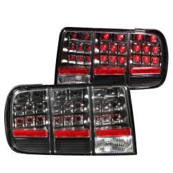 Anzo USA - Anzo USA 321020 Black LED Tail Light Set-Clear Lens - Image 1