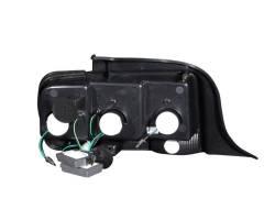 Anzo USA - Anzo USA 321020 Black LED Tail Light Set-Clear Lens - Image 3