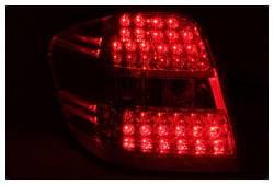 Anzo USA - Anzo USA 321053 Chrome LED Tail Light Set-Red/Clear Lens - Image 2