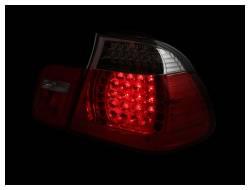 Anzo USA - Anzo USA 321096 Chrome LED Tail Light Set-Red/Clear Lens - Image 2