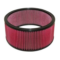 """Airaid - Airaid 801-379 14"""" x 6"""" Performance Replacement Air Filter Red Dry Filter - Image 1"""