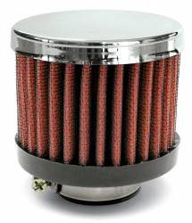 """Airaid - Airaid 775-138 Crankcase Breather Filter 1.25"""" ID - Clamp On 3.0"""" OD 2.5"""" Tall - Image 1"""