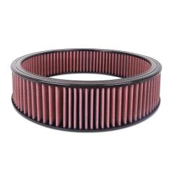 """Airaid - Airaid 800-407 Round Performance Air Filter; 16""""OD x 4.0"""" H; Red Cotton - Image 1"""