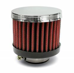 "Airaid - Airaid 775-490 Crankcase Breather Filter 1.25"" OD - Push On 3.0"" OD 2.5"" Tall - Image 1"