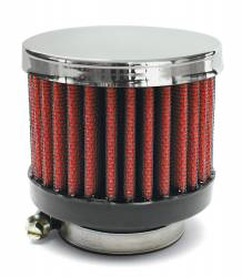 "Airaid - Airaid 775-495 Crankcase Breather Filter 1.25"" OD - Screw On 3.0"" OD 2.5"" Tall - Image 1"