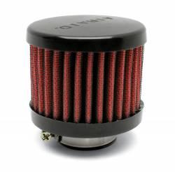 "Airaid - Airaid 771-490 Crankcase Breather Filter 1.25"" OD - Push On 3.0"" OD 2.5"" Tall - Image 1"