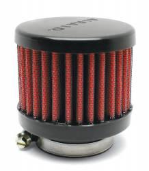 "Airaid - Airaid 771-495 Crankcase Breather Filter 1.25"" OD - Screw On 3.0"" OD 2.5"" Tall - Image 1"