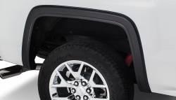 Bushwacker - Bushwacker 40124-02 OE-Style Rear Fender Flares-Black - Image 1