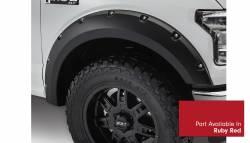 Bushwacker - Bushwacker 20935-72 Pocket Style Front/Rear Fender Flares-Ruby Red - Image 2