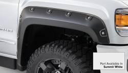 Bushwacker - Bushwacker 40968-14 Boss Pocket Front/Rear Fender Flares-Summit White - Image 2