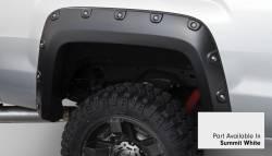 Bushwacker - Bushwacker 40968-14 Boss Pocket Front/Rear Fender Flares-Summit White - Image 3