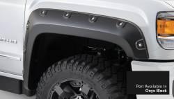 Bushwacker - Bushwacker 40968-34 Boss Pocket Front/Rear Fender Flares-Onyx Black - Image 2