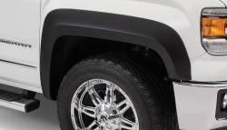 Bushwacker - Bushwacker 40099-02 Extend-a-Fender Front Fender Flares-Black - Image 1