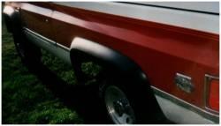 Bushwacker - Bushwacker 40017-11 Extend-a-Fender Front Fender Flares-Black - Image 1