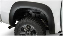 Bushwacker - Bushwacker 30036-02 Extend-a-Fender Rear Fender Flares-Black - Image 1