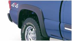 Bushwacker - Bushwacker 40056-02 Extend-a-Fender Rear Fender Flares-Black - Image 1