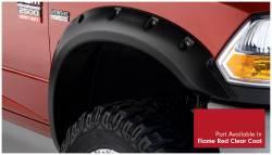 Bushwacker - Bushwacker 50919-75 Pocket Style Front/Rear Fender Flares-Flame Red Clear Coat - Image 2