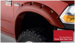 Bushwacker - Bushwacker 50919-75 Pocket Style Front/Rear Fender Flares-Flame Red Clear Coat - Image 3