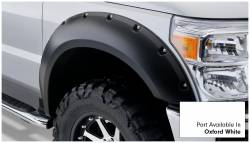 Bushwacker - Bushwacker 20931-12 Pocket Style Front/Rear Fender Flares-Oxford White - Image 2