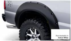 Bushwacker - Bushwacker 20931-12 Pocket Style Front/Rear Fender Flares-Oxford White - Image 4